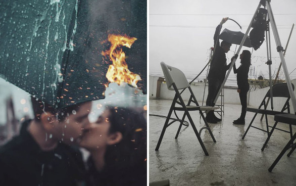 Té ghế với sự thật sau những bức ảnh hôn lãng mạn - Ảnh 1.