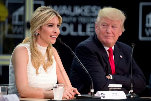 Ivanka - bé cưng của ông Trump là nhà ngoại giao thiên bẩm - Ảnh 1.