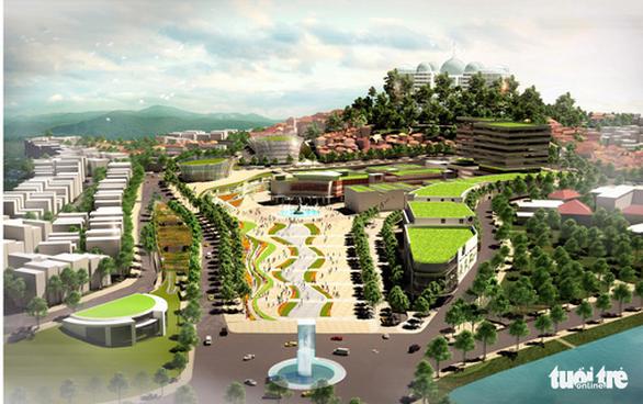 77 kiến trúc sư gửi kiến nghị đánh giá lại quy hoạch trung tâm Hòa Bình - Đà Lạt - Ảnh 2.
