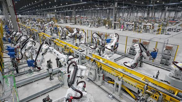 Vinfast vận hành tổ hợp sản xuất ôtô  - Ảnh 1.