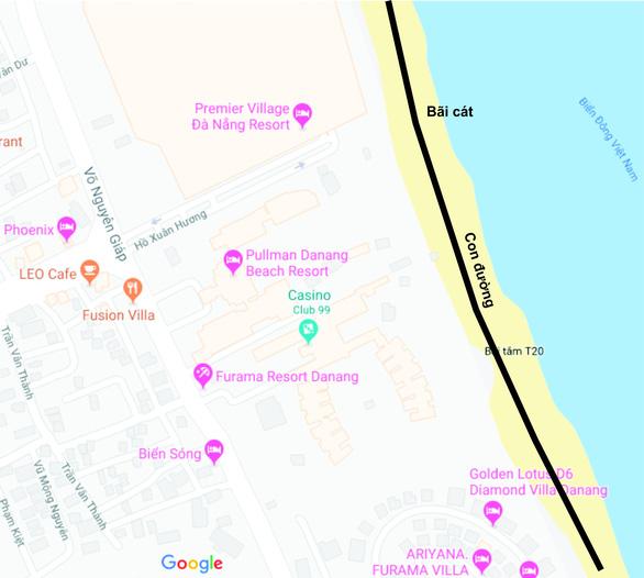 Tranh cãi quanh chuyện làm tuyến đường bêtông dọc bãi biển Đà Nẵng - Ảnh 2.