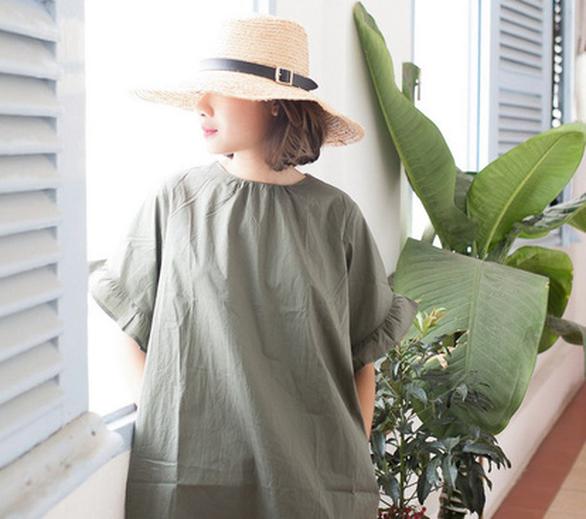 Hải Minh - cô gái nhỏ và thời trang bền vững từ cói - Ảnh 1.