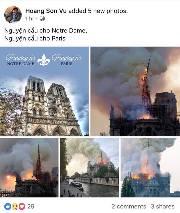 Nhà thờ Đức Bà Paris bốc cháy, người Việt bàng hoàng chia sẻ kỷ niệm - Ảnh 7.