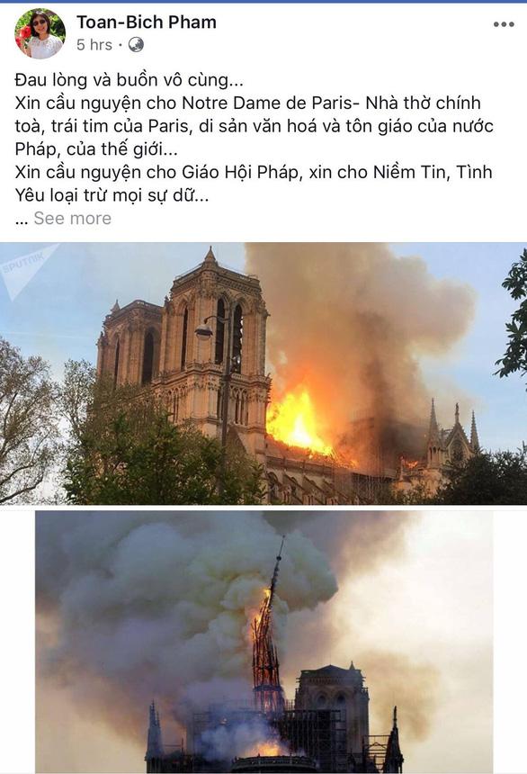 Nhà thờ Đức Bà Paris bốc cháy, người Việt bàng hoàng chia sẻ kỷ niệm - Ảnh 11.