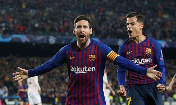 Messi lập cú đúp, Barca chấm dứt giấc mơ Champions League của MU - Ảnh 1.