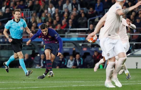 Messi lập cú đúp, Barca chấm dứt giấc mơ Champions League của MU - Ảnh 3.