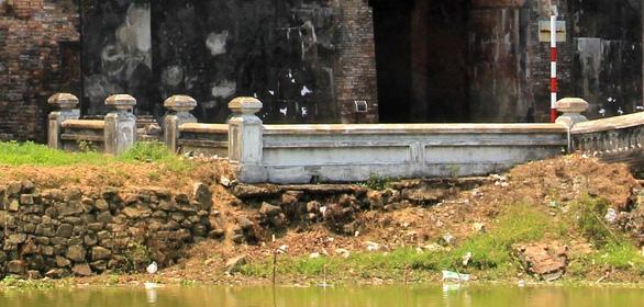 Xác định không đúng mức độ hư hỏng của bờ kè kinh thành Huế - Ảnh 7.