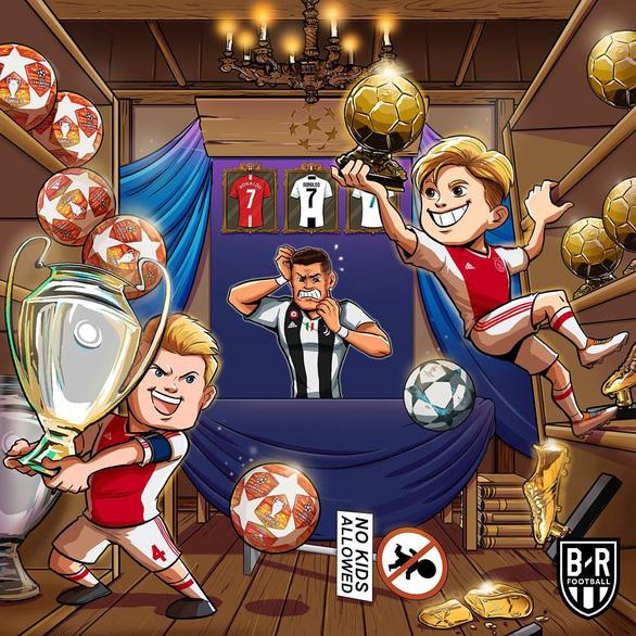 Cộng đồng mạng: Ronaldo cố tình thua để tránh…Messi - Ảnh 10.