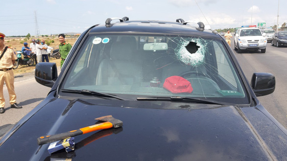 Gây tai nạn liên hoàn qua hai tỉnh, làm CSGT bị thương nặng - Ảnh 2.