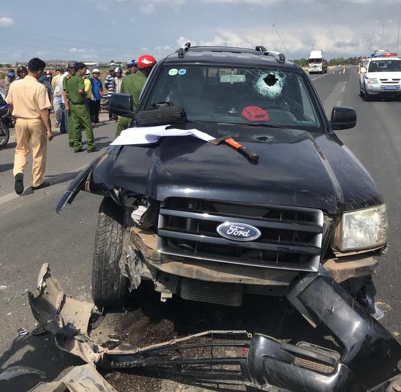 Gây tai nạn liên hoàn qua hai tỉnh, làm CSGT bị thương nặng - Ảnh 1.