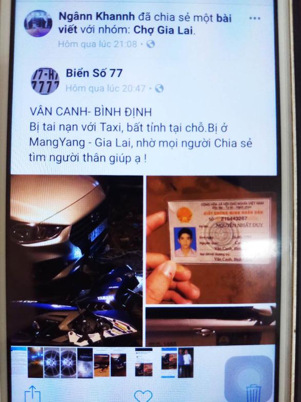 Giả vờ tai nạn giao thông, chụp ảnh đăng Facebook câu like - Ảnh 1.