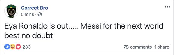 Cộng đồng mạng: Ronaldo cố tình thua để tránh…Messi - Ảnh 8.