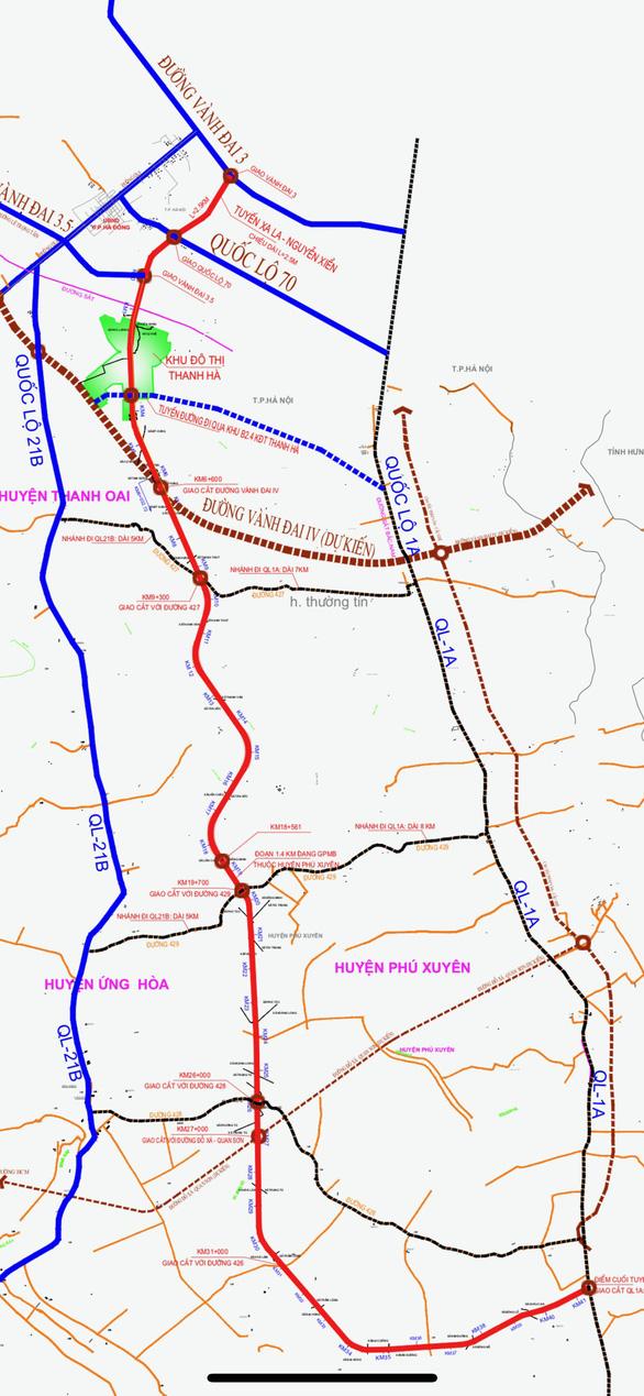 Hà Nội sắp có 'đường thoát' phía nam nối vào cao tốc Cầu Giẽ - Ninh Bình - Ảnh 2.