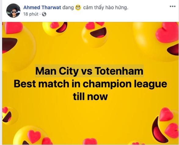 Cộng đồng mạng lên cơn sốt với trận cầu không tưởng giữa MC và Tottenham - Ảnh 2.