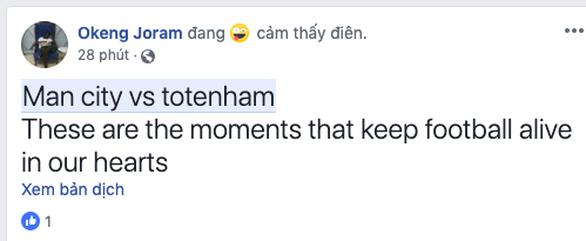 Cộng đồng mạng lên cơn sốt với trận cầu không tưởng giữa MC và Tottenham - Ảnh 3.
