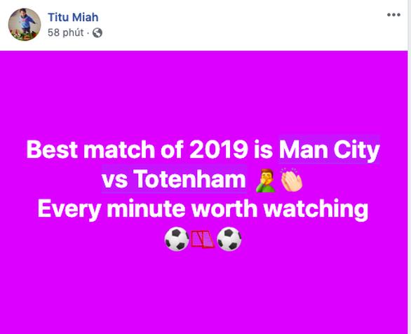 Cộng đồng mạng lên cơn sốt với trận cầu không tưởng giữa MC và Tottenham - Ảnh 5.
