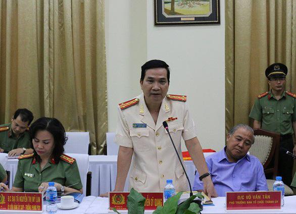 Đại tá Nguyễn Sỹ Quang làm phó giám đốc Công an TP.HCM - Ảnh 2.
