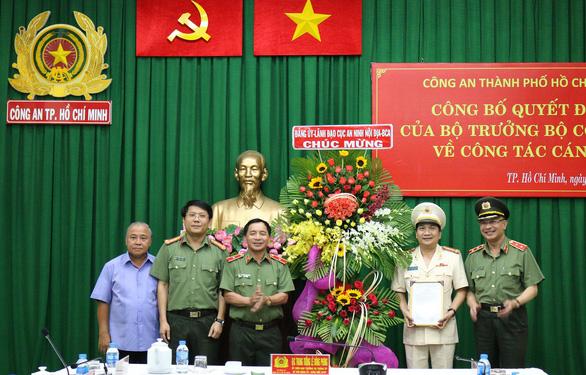 Đại tá Nguyễn Sỹ Quang làm phó giám đốc Công an TP.HCM - Ảnh 1.