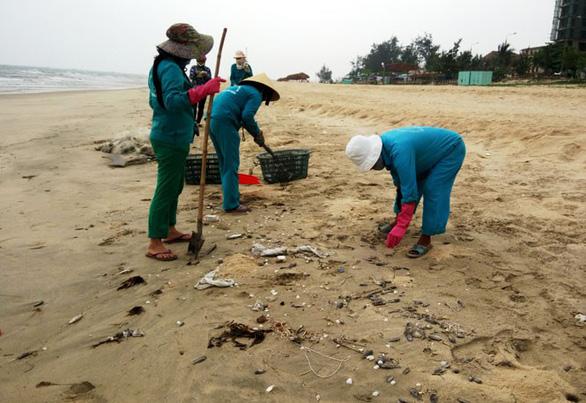 Cảnh cáo bí thư xã để vợ kê khai con gái nhận đền bù sự cố môi trường biển - Ảnh 1.