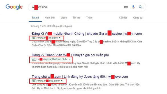 Nhà cái nước ngoài rải thông tin chiêu dụ con bạc Việt - Ảnh 1.