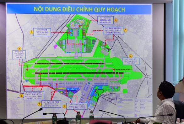 Nhiều quan điểm khác nhau việc xây dựng nhà ga T3 Tân Sơn Nhất - Ảnh 1.