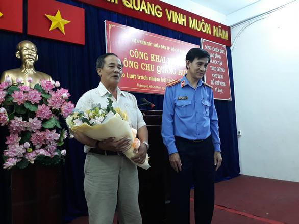 Cụ ông bị oan sai 10 năm không chấp nhận lời xin lỗi của Viện KSND TP.HCM - Ảnh 1.