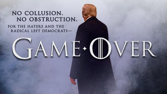 Ông Trump chế ảnh từ bộ phim Game of Thrones, HBO yêu cầu ngưng - Ảnh 1.