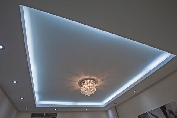 Đẹp mà độc với 4 cách trang trí nội thất bằng đèn LED dây - Ảnh 2.