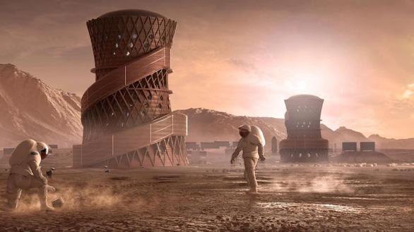Mẫu nhà ở trên sao Hỏa do NASA chọn trông ra sao? - Ảnh 2.