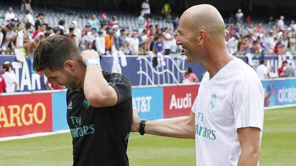 HLV Zidane bị tố lạm quyền vì để con trai bắt chính trong khung gỗ Real Madrid - Ảnh 1.
