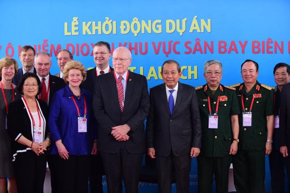 Mỹ chính thức khởi động dự án xử lý dioxin ở sân bay Biên Hòa - Ảnh 2.