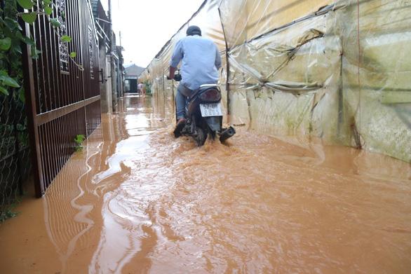Chiều 20-4, Đà Lạt mưa lớn kèm mưa đá, nhiều nơi ngập nặng - Ảnh 3.