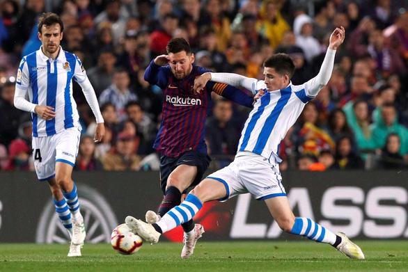 Messi bị chặn đứng, Barca vẫn tiến sát ngai vàng - Ảnh 2.