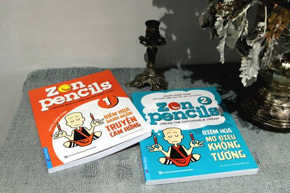 Zen Pencils: Những bức tranh đầy màu sắc và rất đỗi kiệm lời - Ảnh 1.