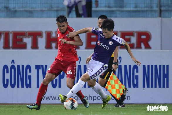 Vòng 6 V-League 2019: Điểm sáng và tối trên sân Hàng Đẫy - Ảnh 1.