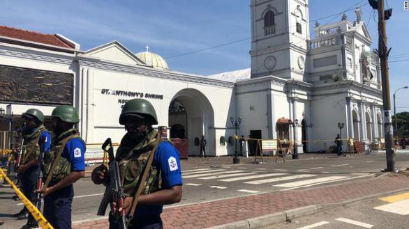 Lại nổ bom gần nhà thờ ở thủ đô Sri Lanka - Ảnh 1.