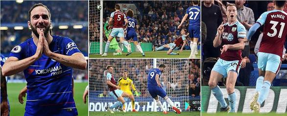 Bị Burnley cầm chân, Chelsea vẫn vượt mặt Arsenal - Ảnh 2.