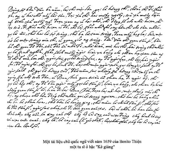Những nhân vật đầu tiên trong tiến trình chữ quốc ngữ - Kỳ 1: Khởi đầu của chữ quốc ngữ - Ảnh 4.