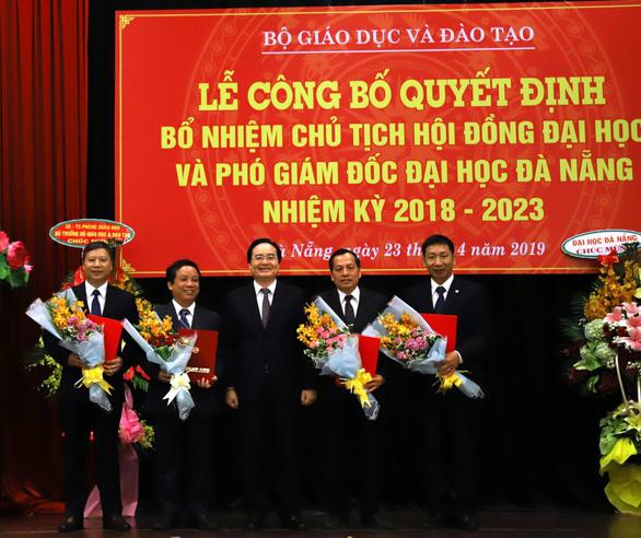 Bổ nhiệm chủ tịch Hội đồng đại học và các phó giám đốc Đại học Đà Nẵng - Ảnh 1.
