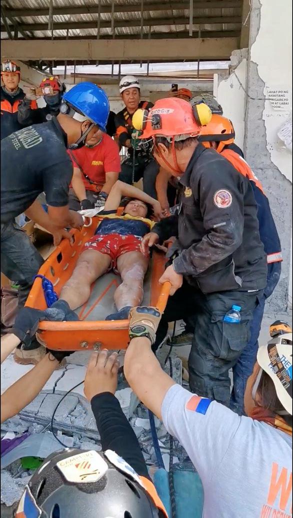 Philippines: động đất chồng động đất, 600 dư chấn, thương vong tăng nhanh - Ảnh 2.