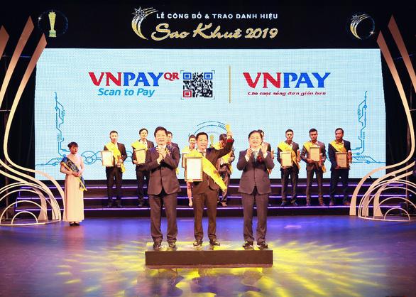 VNPAY được vinh danh trong TOP 10 Sao Khuê 2019 - Ảnh 1.
