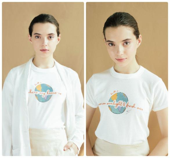 Diễm My 9x và Giang Ơi thiết kế áo thun mang thông điệp bảo vệ môi trường - Ảnh 1.