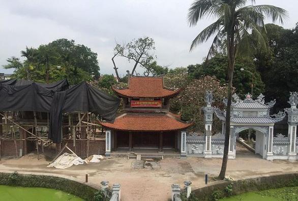 Phạt sư trụ trì chùa 20 triệu đồng vì xây dựng xâm phạm di tích - Ảnh 3.