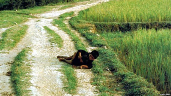 Anh che đạn cho em ở Mỹ Lai: bức ảnh trở về với sự thật - Ảnh 1.