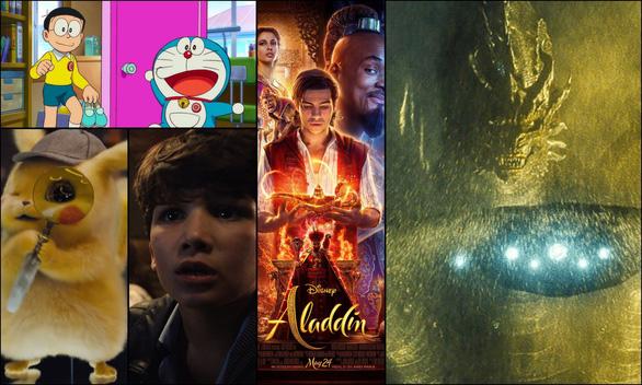 Doremon, Pikachu, Aladdin... đồng loạt trở lại khởi động mùa phim hè - Ảnh 1.