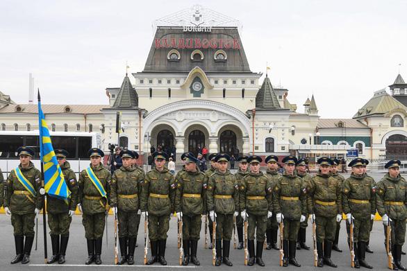 Đoàn tàu ông Kim Jong Un đã đến thành phố Vladivostok - Ảnh 3.