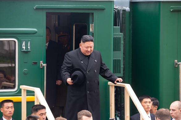 Đoàn tàu ông Kim Jong Un đã đến thành phố Vladivostok - Ảnh 1.