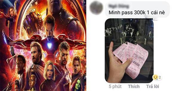 Avengers: Endgame - Phe vé đội giá trên trời làm người xem bức xúc - Ảnh 5.