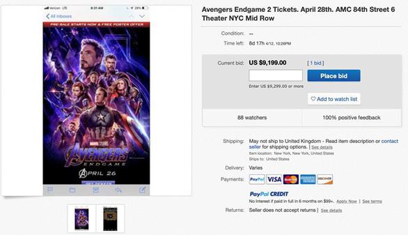 Avengers: Endgame - Phe vé đội giá trên trời làm người xem bức xúc - Ảnh 7.