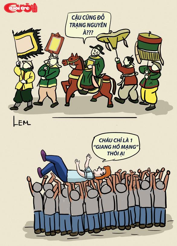 Biếm họa: Giang hồ cõi mạng - Ảnh 7.